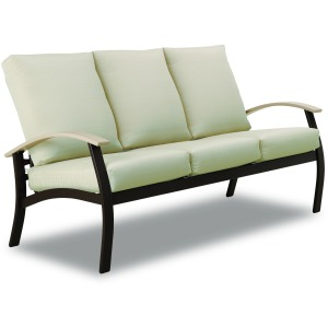 Belle Isle Cushion Three-Seat Sofa