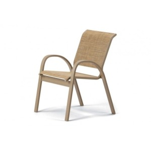 Aruba Ii Sling, Stacking Cafe Chair