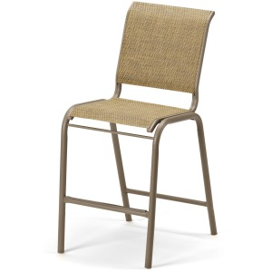 Reliance Contract Sling Balcony Height Stacking Armless Cafe Chair