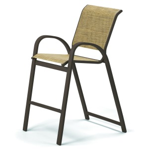 Aruba Sling Bar Height Cafe Chair