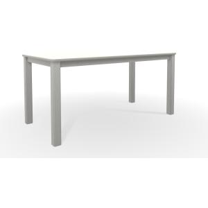 "MGP Slatted Top Coffee Table 21"" x 42"" - Snow"