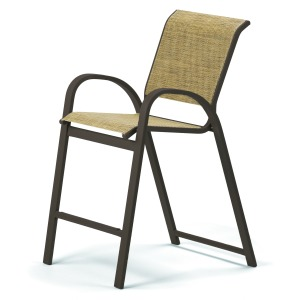 Aruba Sling Balcony Height Cafe Chair