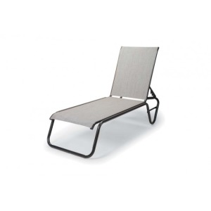 Gardenella Sling, Four-position Lay-flat Stacking Armless Chaise