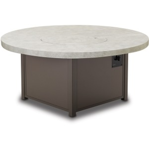 "48"" Round Elements Top Fire Table"