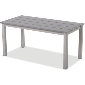 "21"" x 24"" MGP Top Coffee Table - Textured Graphite"