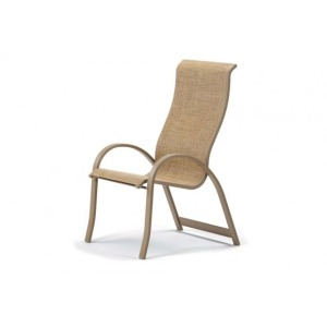 Aruba Ii Sling, Supreme Stacking Arm Chair