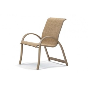 Aruba Ii Sling, Stacking Arm Chair