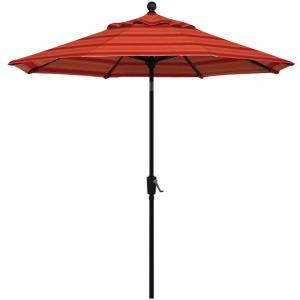 9' Market Umbrella W/ Powder coat Aluminium Frame & Auto Tilt