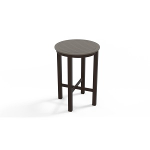 "21"" Round MGP High Height End Table"