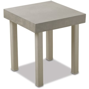 "18"" Square Elements Top End Table"
