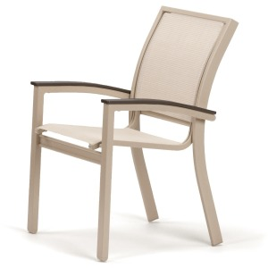 Bazza Sling Dining Height Cafe Chair