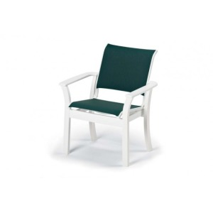 Leeward Mgp Sling, Stacking Cafe Chair