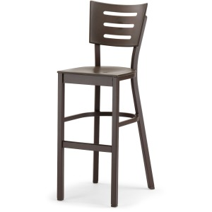 Avant MGP Aluminum Bar Height Armless Chair