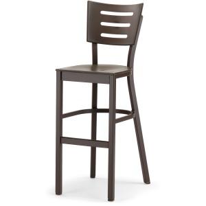 Avant MGP Aluminum Bar Height Armless Chair