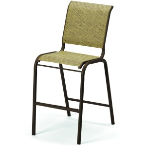 Reliance Contract Sling Bar Height Stacking Armless Chair
