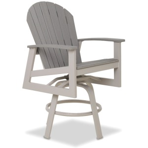 Newport Balcony Height Swivel Arm Chair