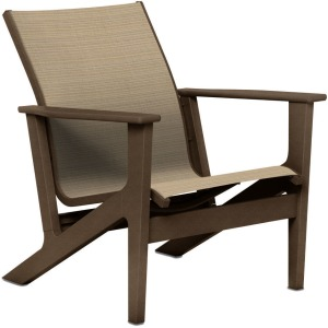 Wexler Sling Chat Height Arm Chair