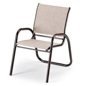 Gardenella Sling Stacking Cafe Chair