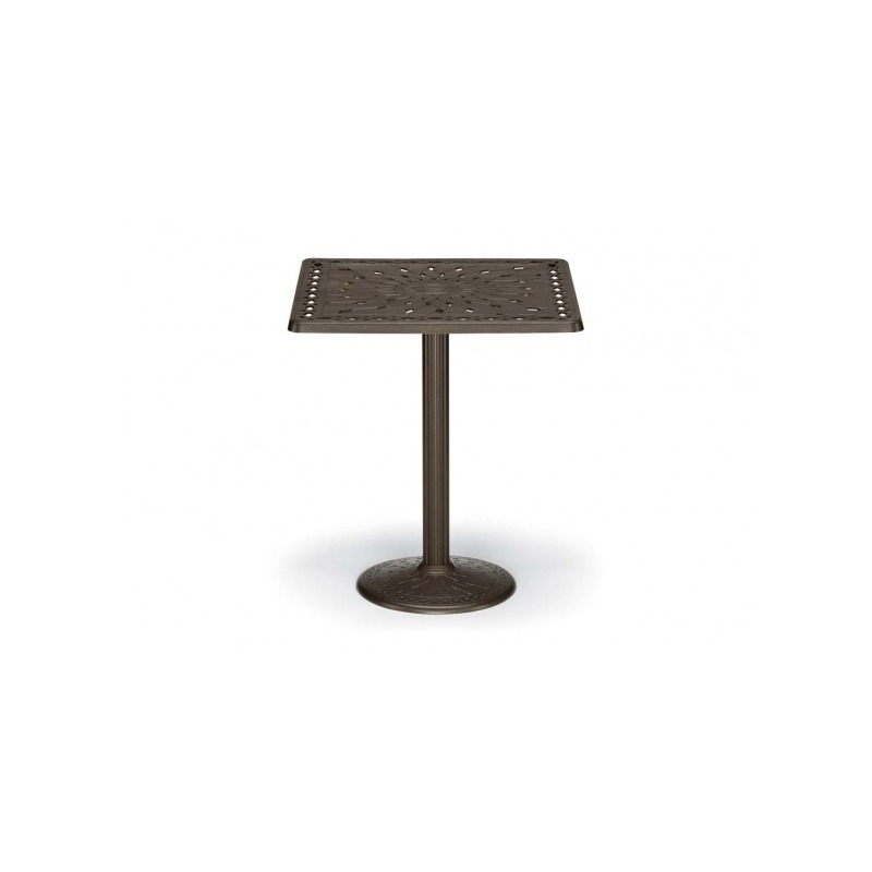 36″ Square Bar Height Table W/ Hole