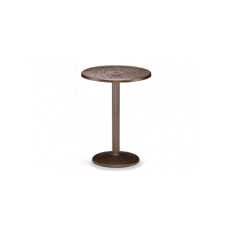 30″ Round Bar Height Table W/ Hole