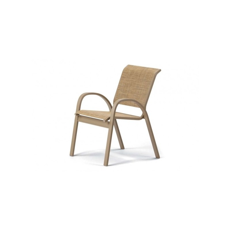 Aruba Ii Sling, Stacking Cafe Chair