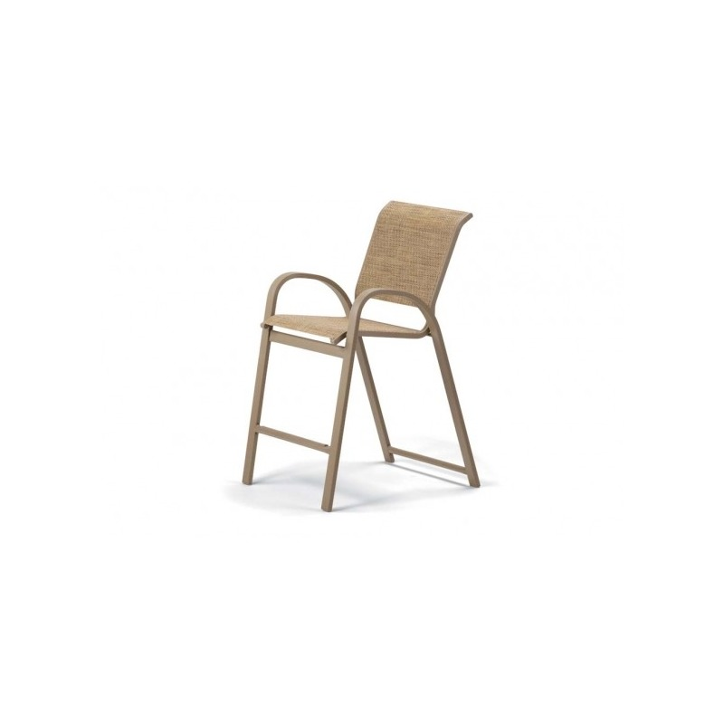 Aruba Ii Sling, Counter Height Stacking Cafe Chair