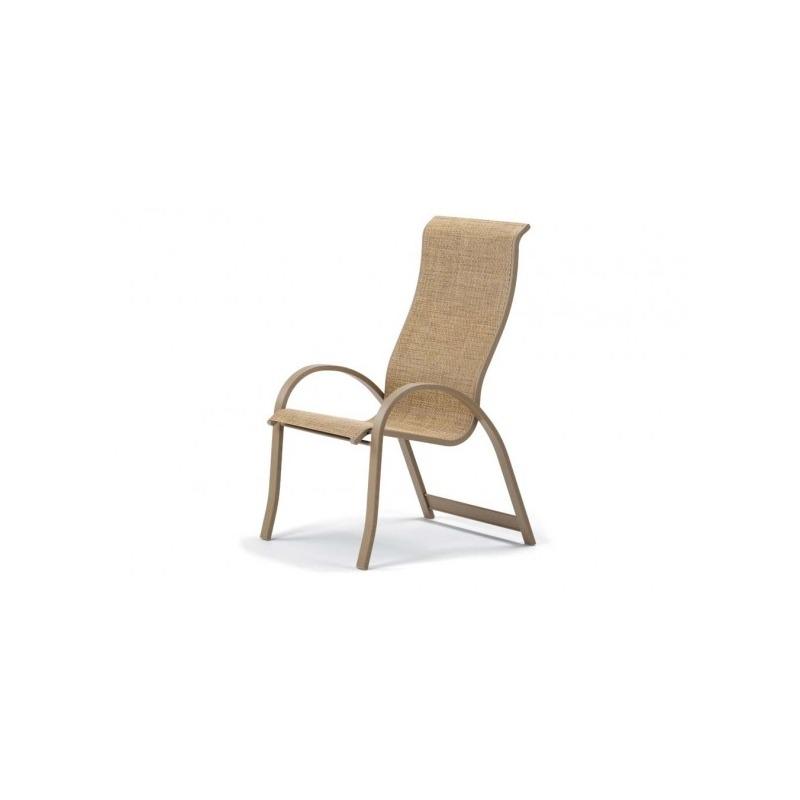 Aruba Ii Sling, Supreme Stacking Arm Chair