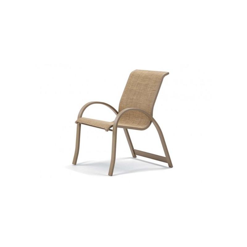 Aruba Ii Sling, Stacking Arm Chair