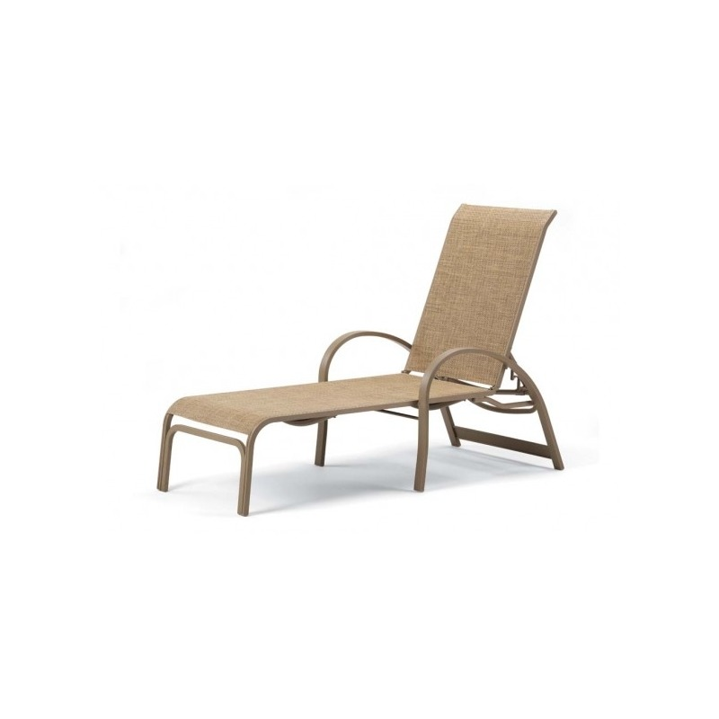 Aruba Ii Sling, Four-position Lay-flat Stacking Chaise