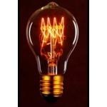 Edison Bulb, Gold, A60-23 Cone 120v 60w