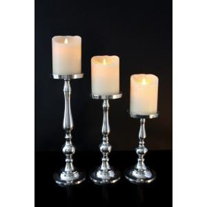 Aluminum Candle Holder set Of 3