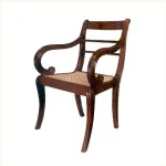 Coorg Fluted Armchair