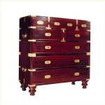 Delhi Campaign Chest of Drawers