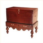 Zeylon Mahogany and Ebony Chest