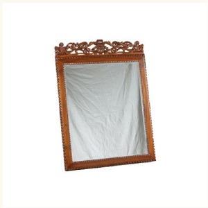 Anthony Carved Anglo Indian Mirror
