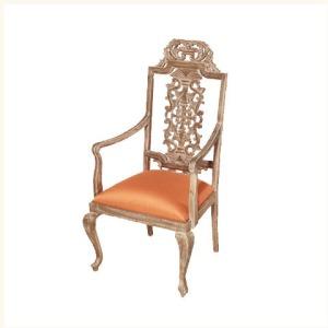 Barker Carved Back Armchair