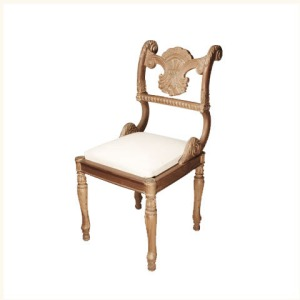 Anthony Shell Motif Side Chair