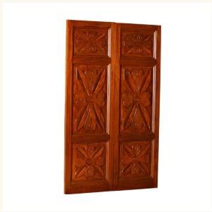 Chandernagore Carved Door