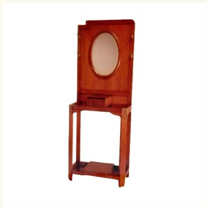 Chambon Teak and Rosewood Hat Stand