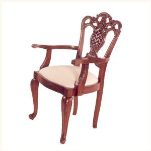 Barker Carved Armchair