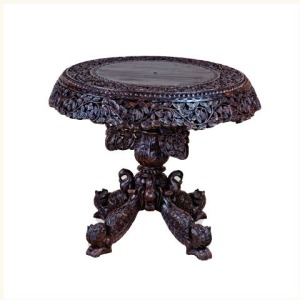 Barker Anglo Indian Antiqued Breakfast Table