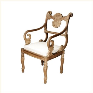 Anthony Shell Motif Armchair