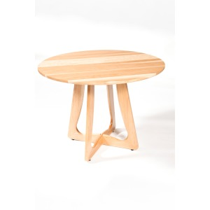 mRetro Dining Table 42 (Round) Hickory