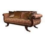 Grecian Lyre Chaise  Seating