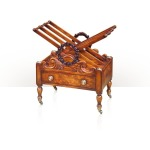 Althorp Living History A mahogany Canterbury