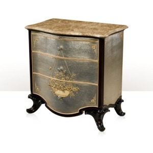 Argento Nightstand Chests of Drawers
