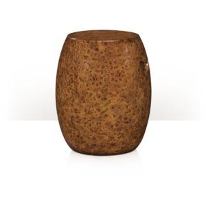 A Barrel of Burl Seating