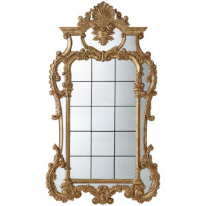 The Linnell C Scroll Wall Mirror