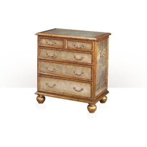 Eglomis The Star-Handle Chest nightstand