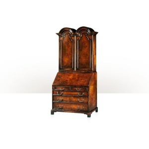 Essential TA A poplar burl veneered bureau cabinet